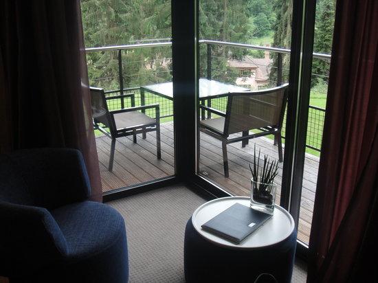 Hotel K: Balkon