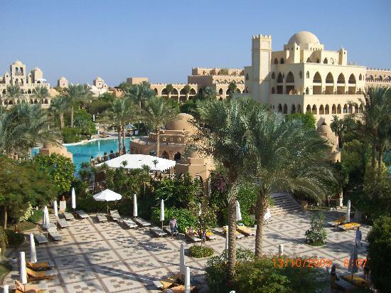 โรงแรมมาคาดี พาเลส: vue de la chambre