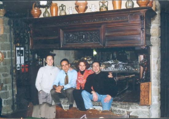 Hotel La Gravenna: Aufnahme von 96 mit Lars und Alexandro de Vito