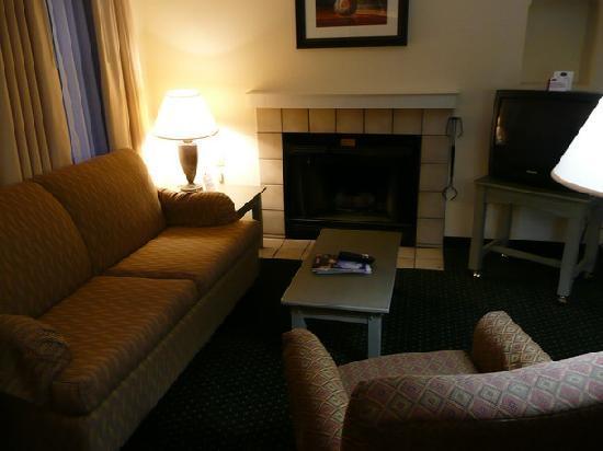 Residence Inn Santa Fe: Sofaecke