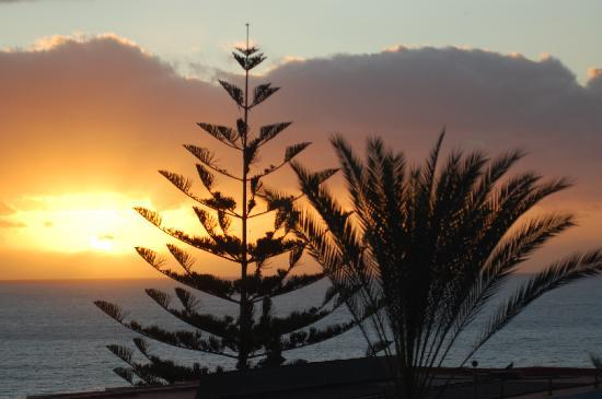 Apartamentos MarinaSol: Sonnenaufgang beim Frühstück