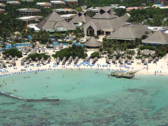 Luxury Bahia Principe Akumal Don Pablo Collection: View from Parasail