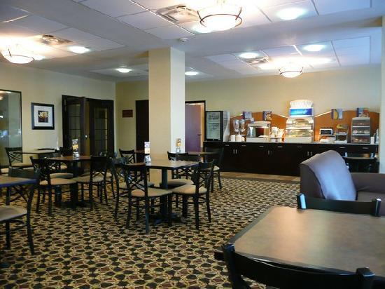 Holiday Inn Express Hotel & Suites Willcox : Frühstücksraum