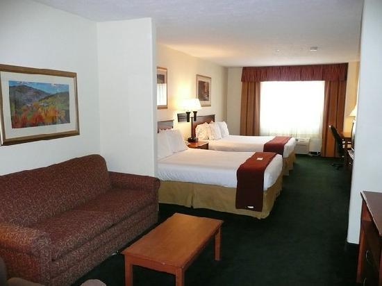 Holiday Inn Express Suites Alamosa: Unser Zimmer