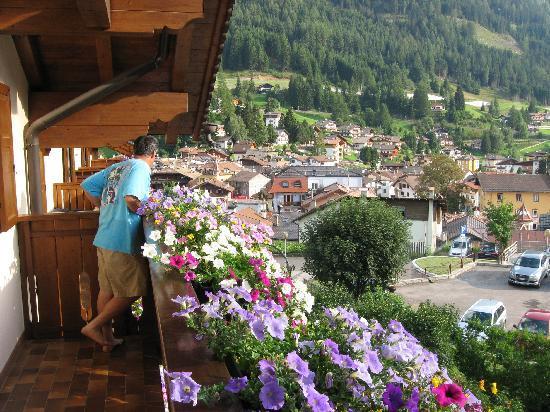 Hotel Stella Alpina: dal balcone dell'hotel