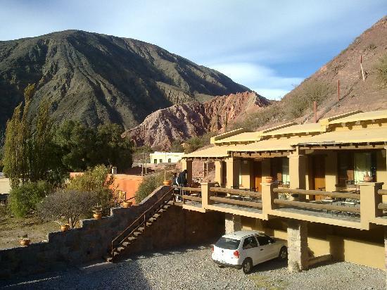 Terrazas de la Posta: general view from parking area