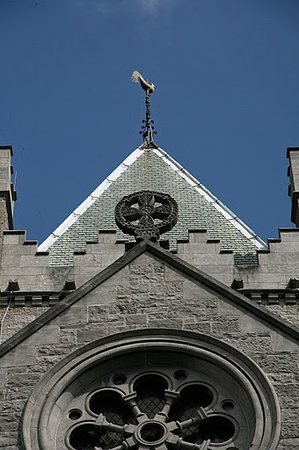 Dublin, Irland: Cathedral detail