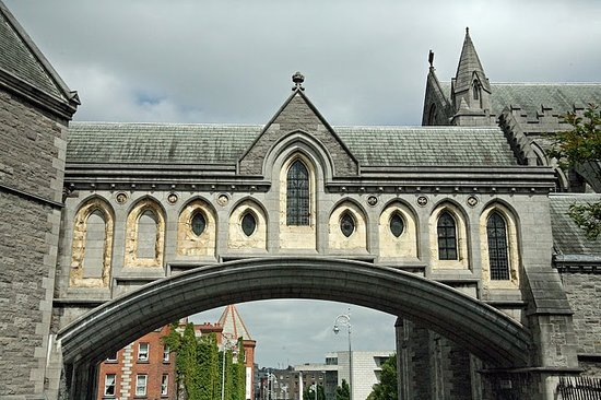 Dublin, Ireland: The Cathedral Bridge