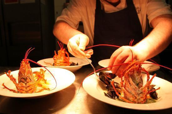 Hedley House Hotel: Food