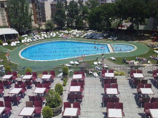 pool view - Picture of Hotel Samba, Lloret de Mar - TripAdvisor