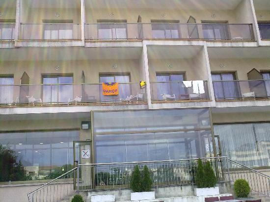 Hotel Samba: view of balconies