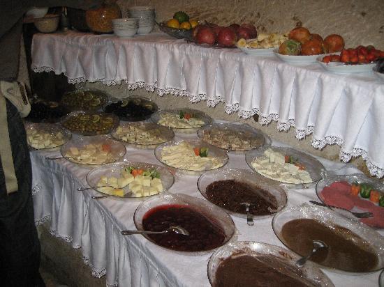Gamirasu Cave Hotel: frühstück