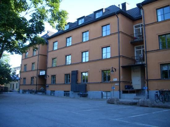 Akademihotellet: Rear of hotel