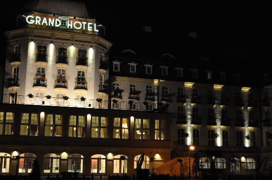 Sofitel Grand Sopot: View at Night
