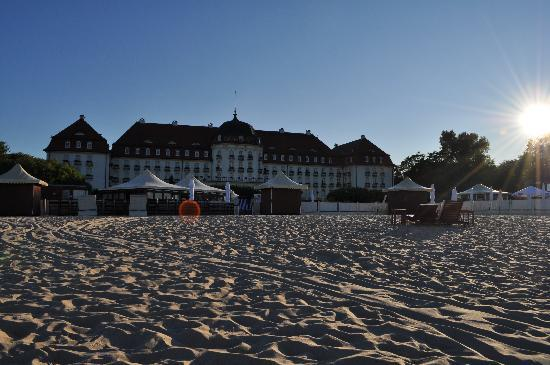 Sofitel Grand Sopot: Private Beach