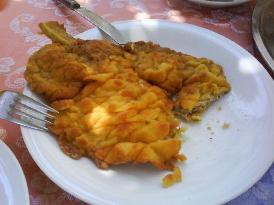 Ristorante Belle Isole: Cotellete a'la Milaneze