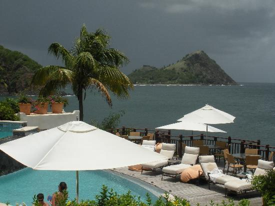 Cap Estate, Saint Lucia: One of the pool areas