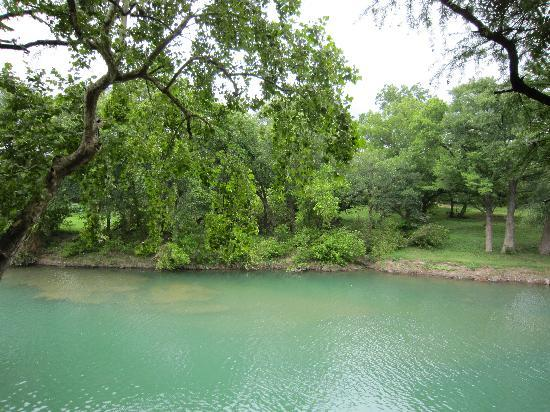Lamb's Rest Inn: Guadalupe river - view from the deck