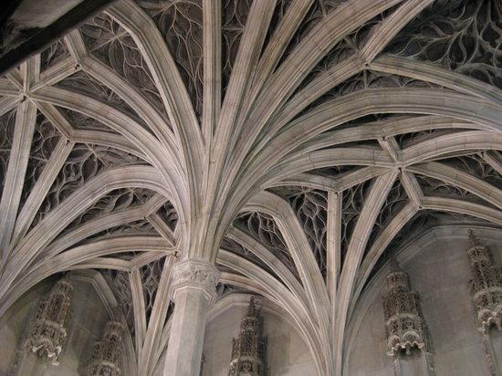 Musée de Cluny - Musée National du Moyen Âge : chapel ceiling