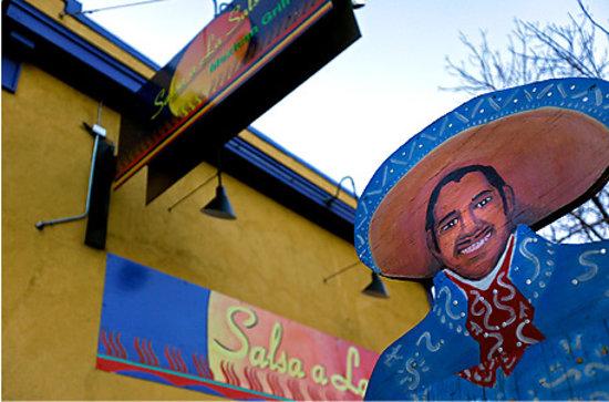 Salsa A La Salsa: Salsa la Salsa Street Sign