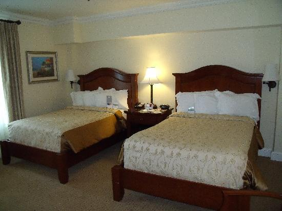 The George Washington A Wyndham Grand Hotel : Two double beds