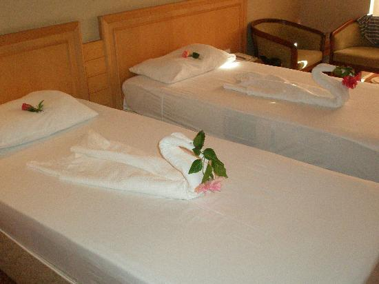 Alba Resort Hotel: The maids handywork on our anniversary