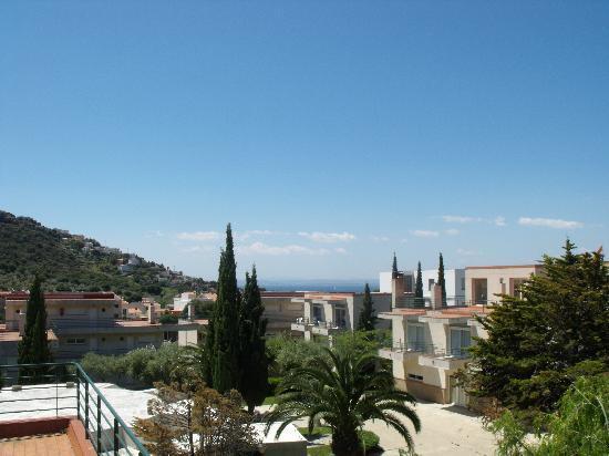 Residence Don Miguel: vue du balcon (nous étions au 2ème étage)