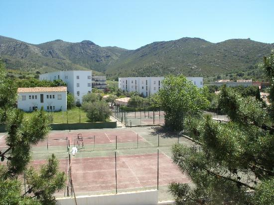 Residence Don Miguel : les tennis