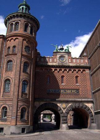 New Port Tours - Discover Copenhagen : Main gate to Carlsberg Brewery