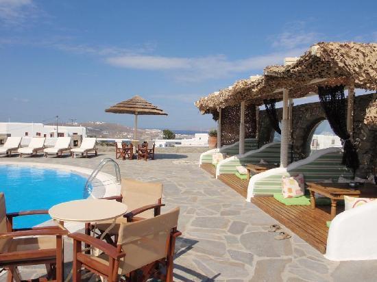 Villa Matina : At the pool