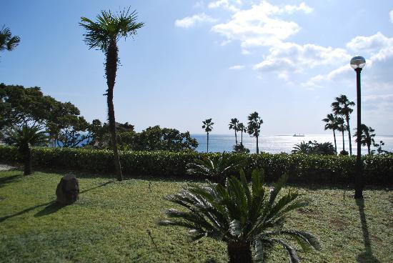 Hyatt Regency Jeju: Garten des Hotels