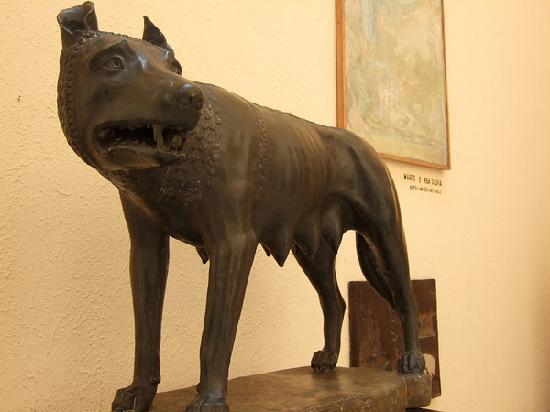 Capitoline Wolf Romulus and Remus Large TK28565