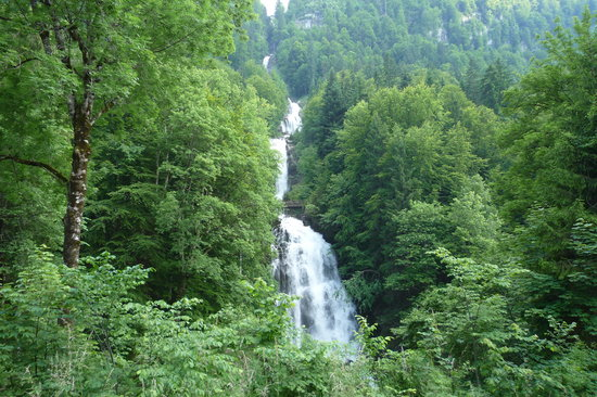 Бернский Оберланд, Швейцария: The Waterfalls (Giessbach, CH)