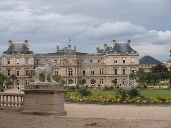 Parijs, Frankrijk: Luxembourg Palais