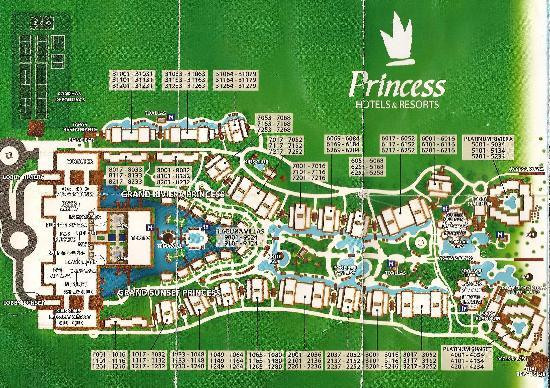 Resort Layout Picture Of Grand Sunset Princess All