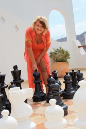 Hotel Alianthos Garden: Schachspielen im Alianthos Garden