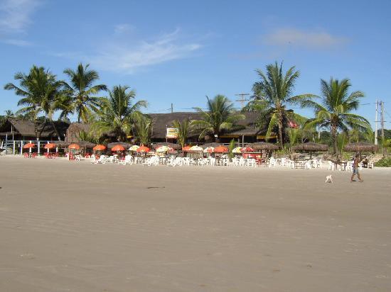 Ilheus, BA: Strand mit Cabanas