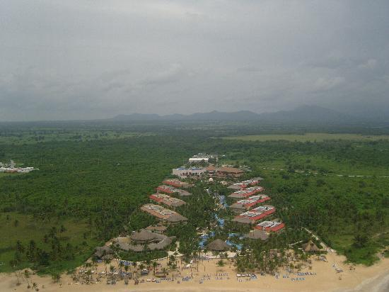 Dreams Punta Cana Resort & Spa: Dreams PC from the helicopter