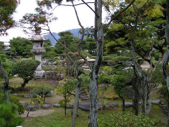 Onzanso-en: Schöne Gartenanlage