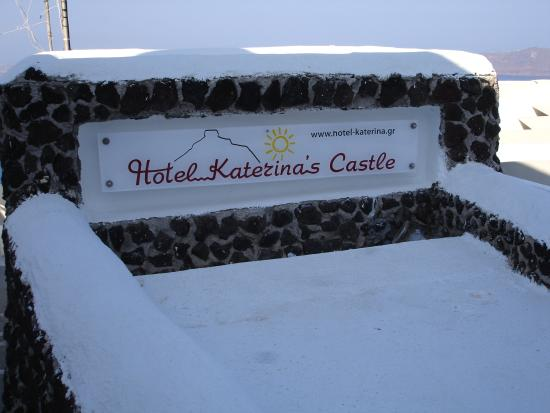 Hotel Katerina's Castle: entrance