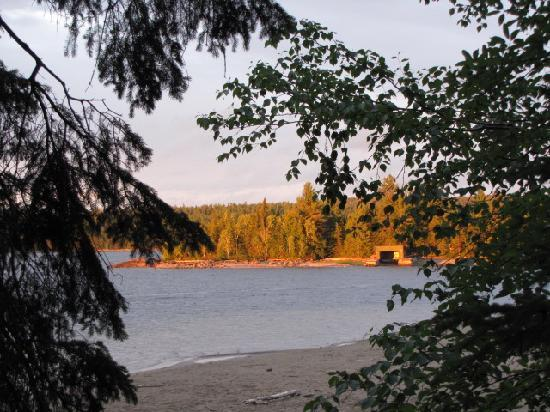 Garden Island Lodge: View from Cabin #2