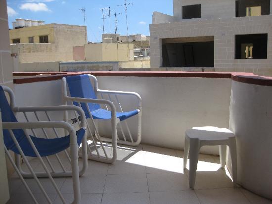 Park Lane Aparthotel: Balcony