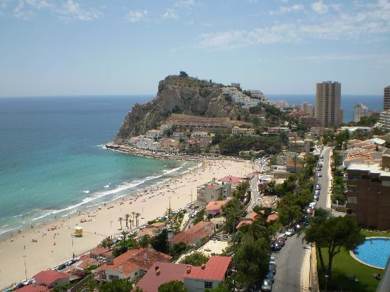 Servigroup Torre Dorada: Looking towards Finestrat from our balcony