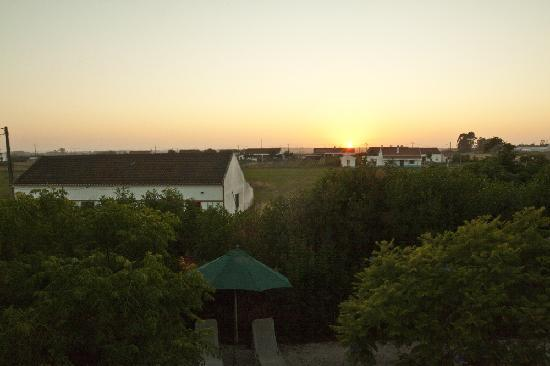 Odemira, Portugal: Sunset from our bedroom window