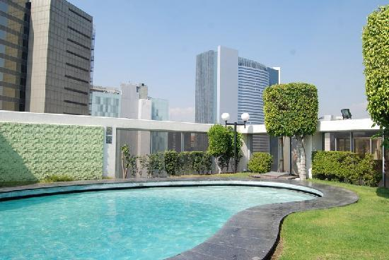Hotel Casa Blanca Mexico City: swimming pool on the roof
