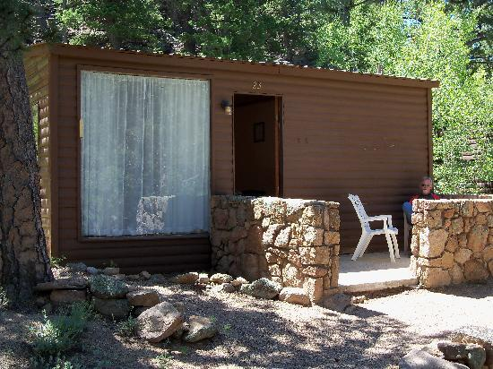 Lane Guest Ranch: Our cabin -- basic, but comfortable