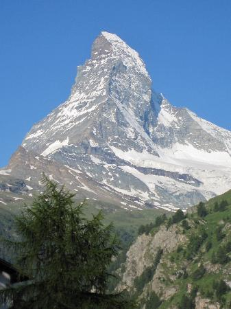 CERVO Zermatt: The view from our room 510