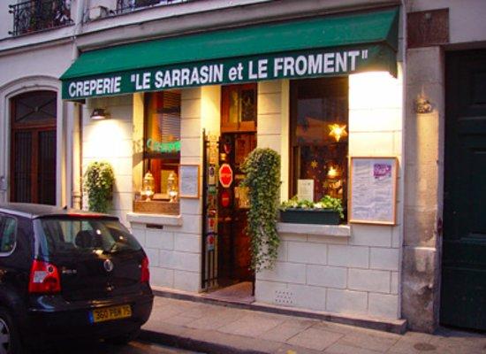 Le Sarrasin et le Froment Creperie, Paris Ile de la Cite