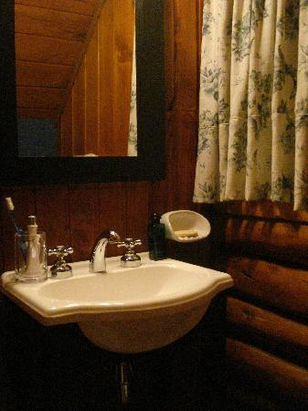 Cabanas Puerto Arauco: toilette en el dormitorio