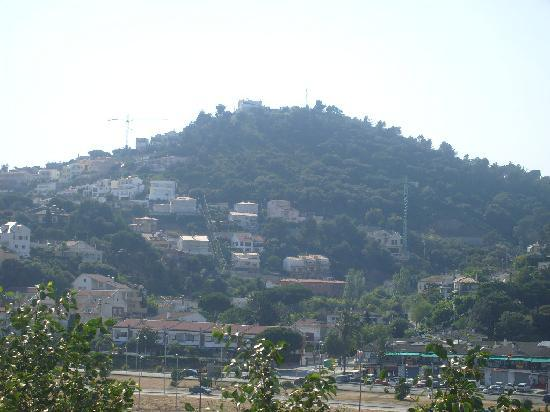 Luna Park Hotel: balcony view of malgrat hills